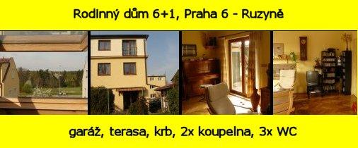 Rodinny dum Praha 6