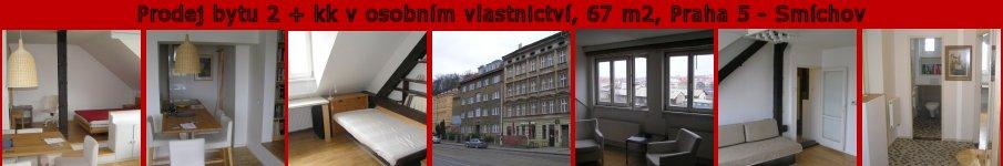 Byt 2+kk, Praha 5 - Sm�chov